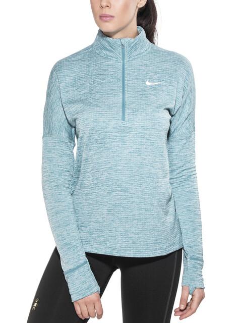 Nike Therma Sphere Element Løbetrøje langærmet Damer petroleumsgrøn